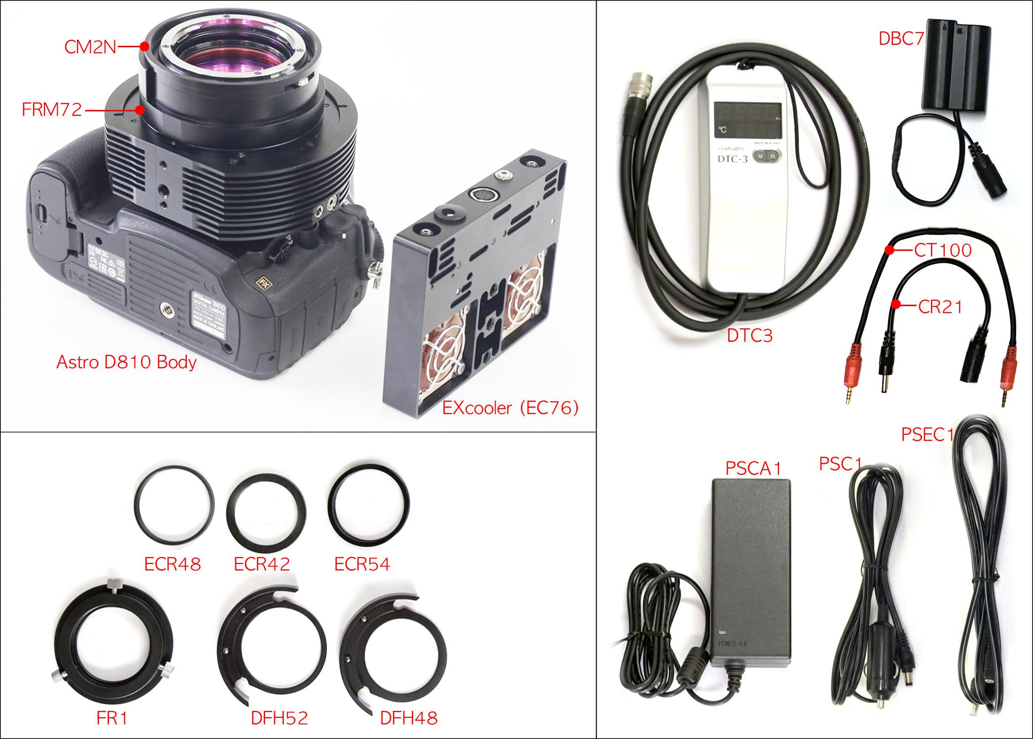 Astro D810 Cooled Nikon Dslrs Camera Parts Diagram Dslr Quantity